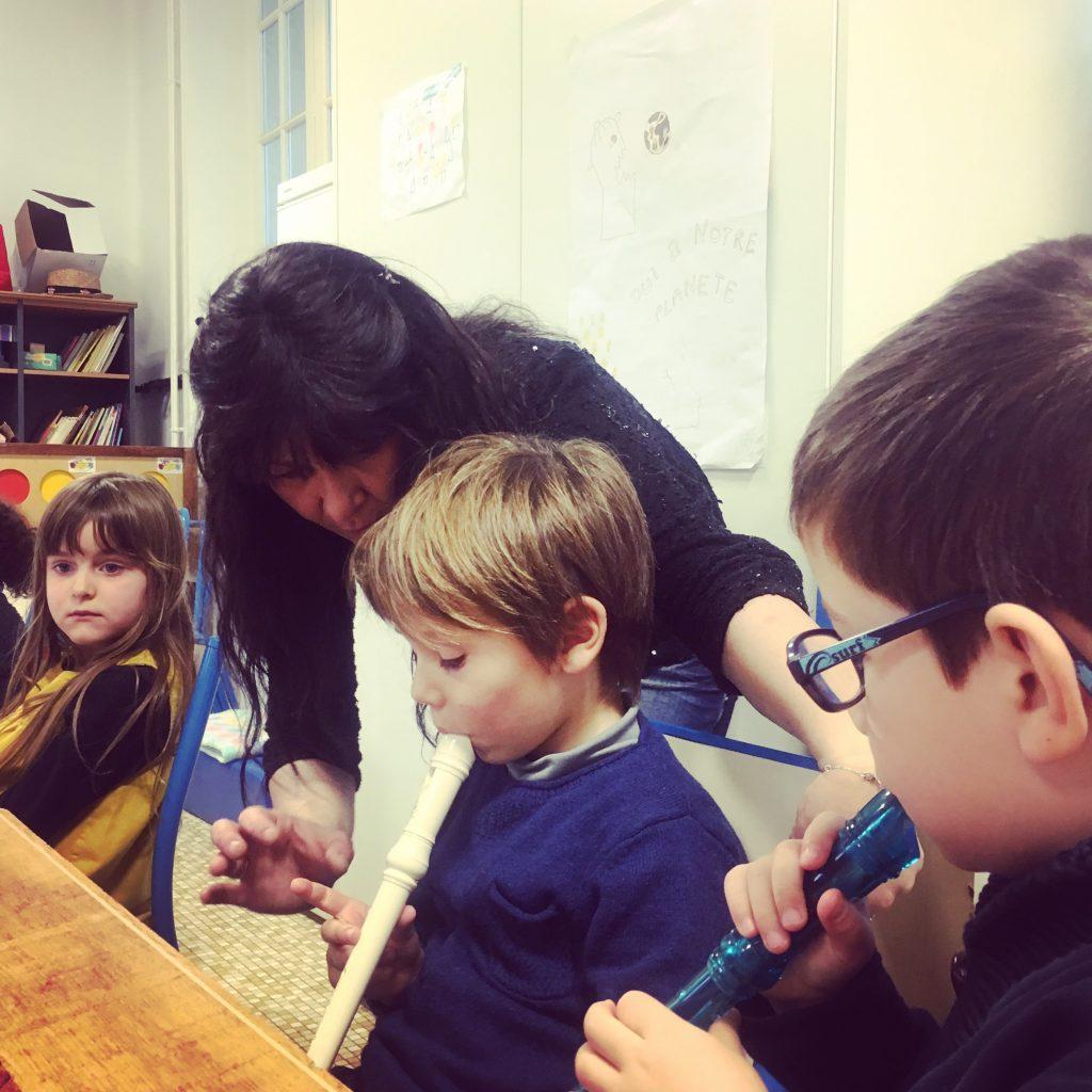 atelier flûte enfants