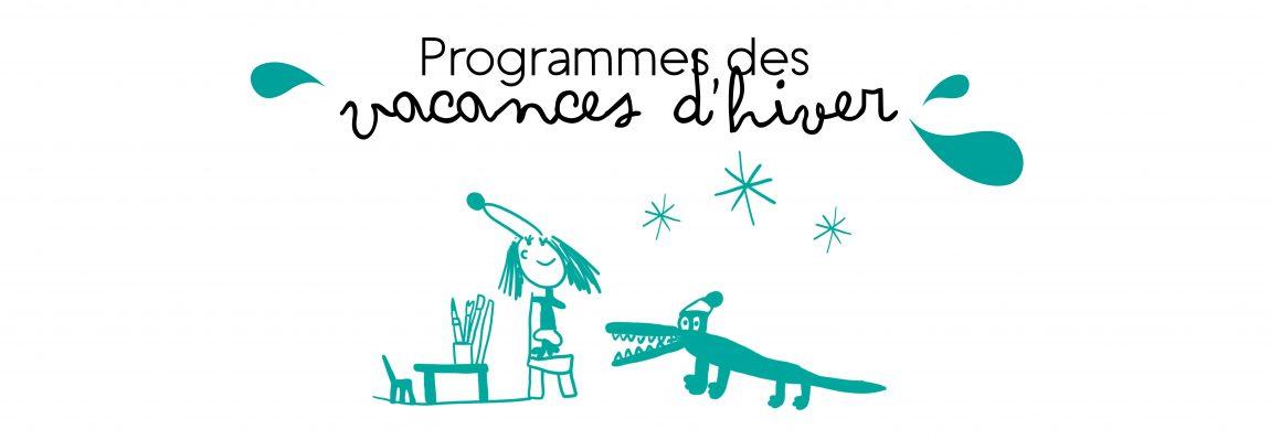 Programmes vacances d'hiver 2017