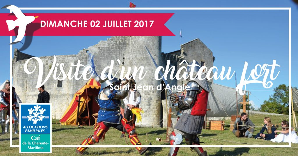 Sorties familles Visite château fort 02.07.17