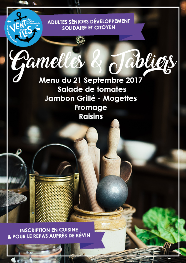 Gamelles & Tabliers 21.09.17