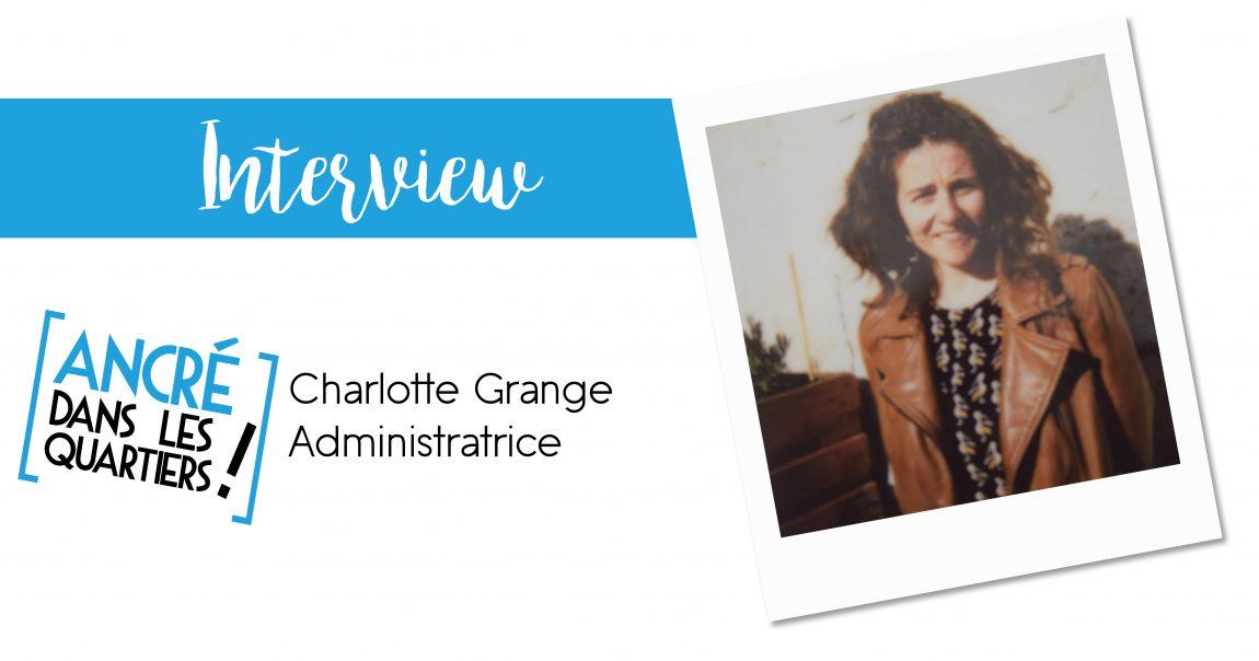 Interview Charlotte Grange