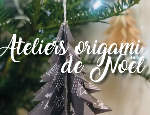 Ateliers origami de Noël