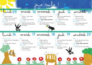 Programmes des vacances de printemps 2018, les Crocos d'Îles
